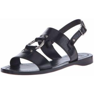 Frye Rachel Harness Strappy Slingback Sandals